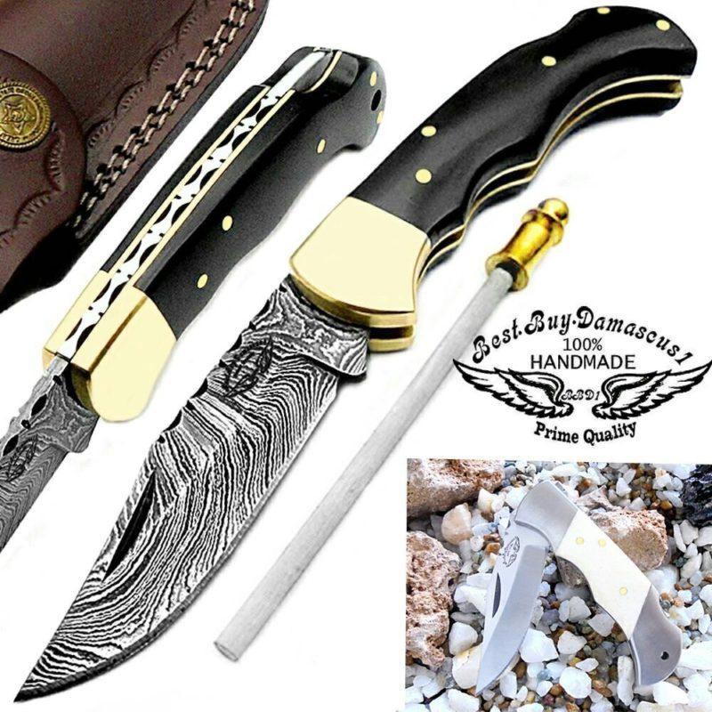 Top 9 Damascus Steel Pocket Knife Reviews | Damascus Pocket Knife ...